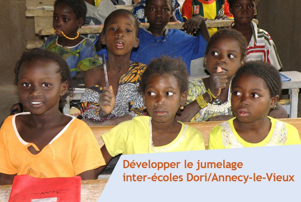 Soutenir la scolarisation des enfants au Burkina Faso